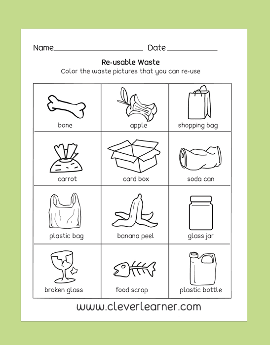 Pin by Clever Learner on Preschool Science Activity Worksheet ...