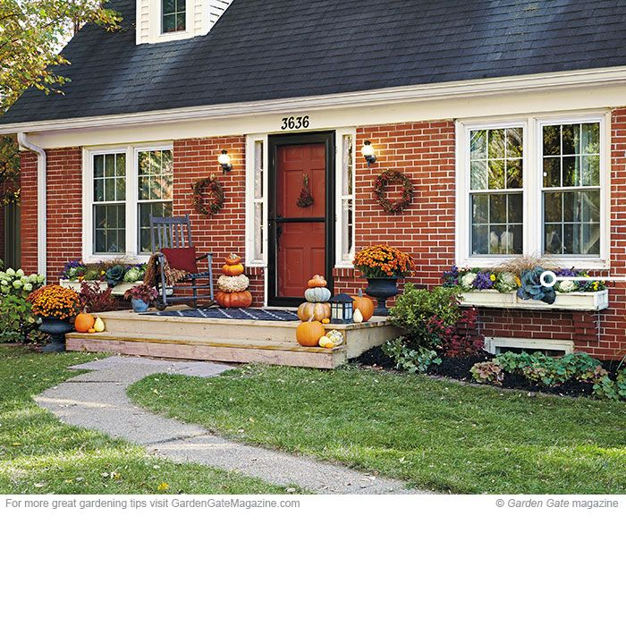 Turn Up Your Fall Curb Appeal