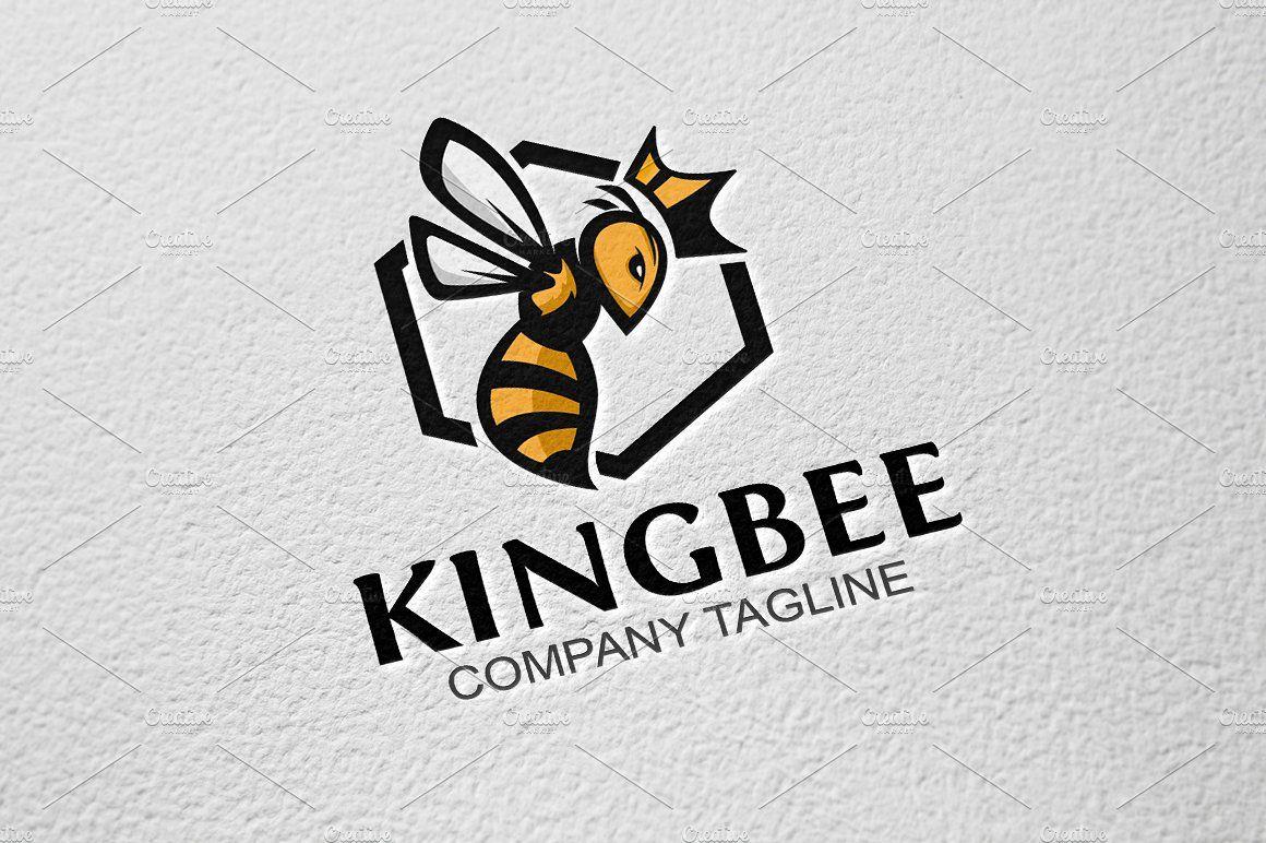 King Bee King bee, Bee, Vintage logo design