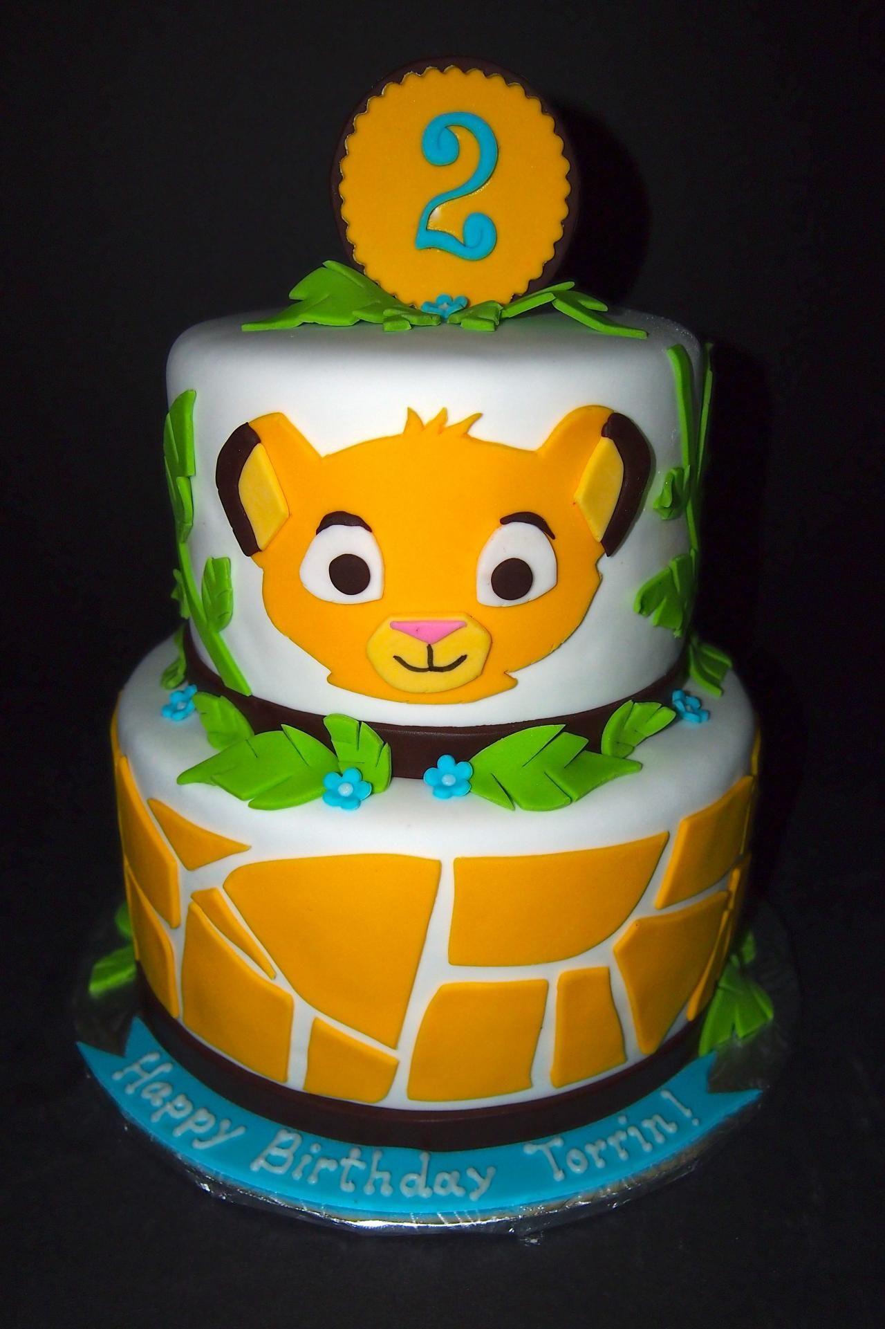 Lion Birthday Cake Lion King Birthday Cake Kempenfelt Cakes - Lion birthday cake design