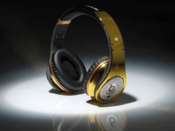 Monster Beats Pro Studio Gold Diamont Edition Kopfhörer