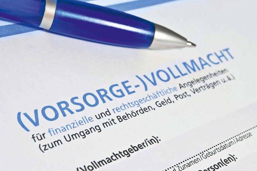 Vorsorgevollmacht Und Gesetzliche Betreuung Im Hinblick Auf Immobilien Jetzt Auf Vorsorge Vollmacht Hausarbeit