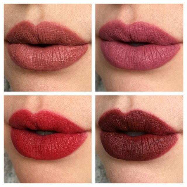 Tarte tarteist lip paints l r top to bottom tbt for Tarte lip paint fomo