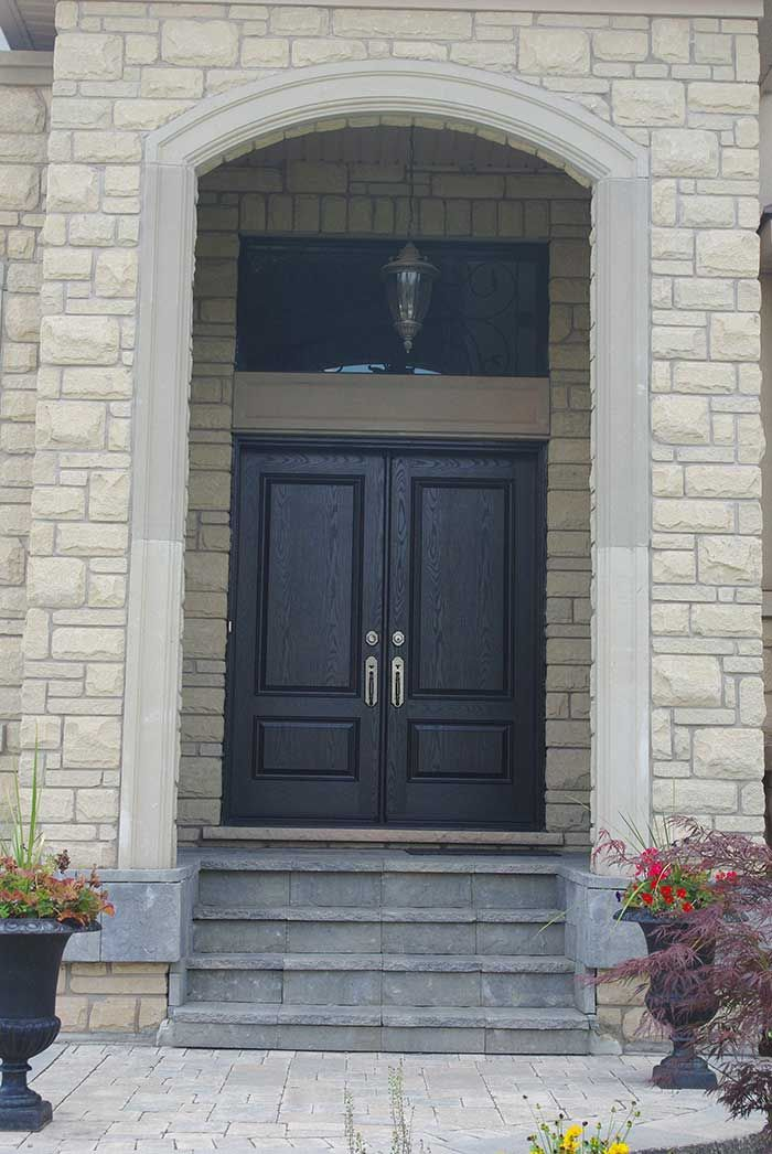 Solid double front door exterior door woodgrain fiberglass solid double parliament front door for Fiberglass double doors exterior
