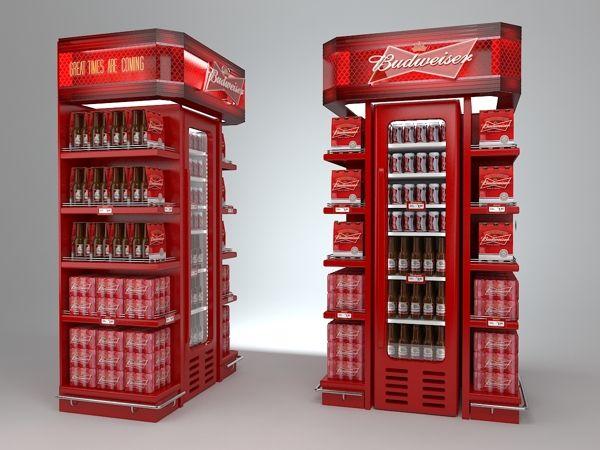 Point of Sale | Glorifier | Point of Purchase Design | POP | POSM | POS | POP | Budweiser by Eduardo Vicentini