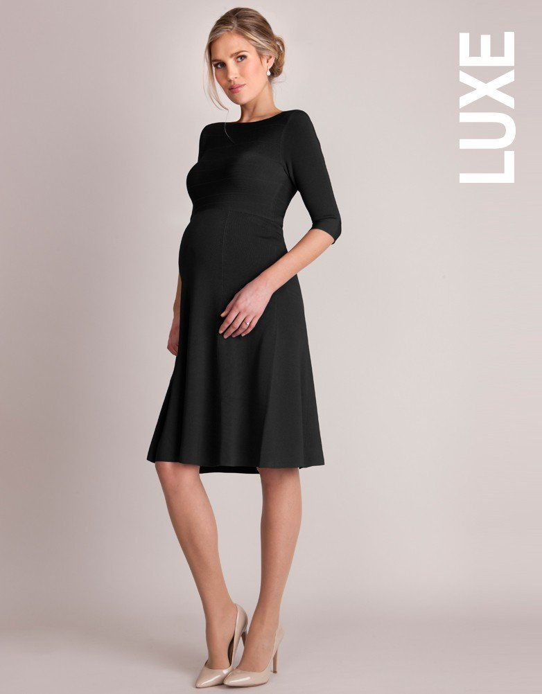 Formal Maternity Dresses Toronto GTA Canada, Seraphine V-Back Luxe ...