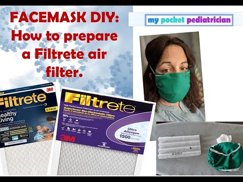 (256) Tutorial How to Turn 3M Air Filters into Viral