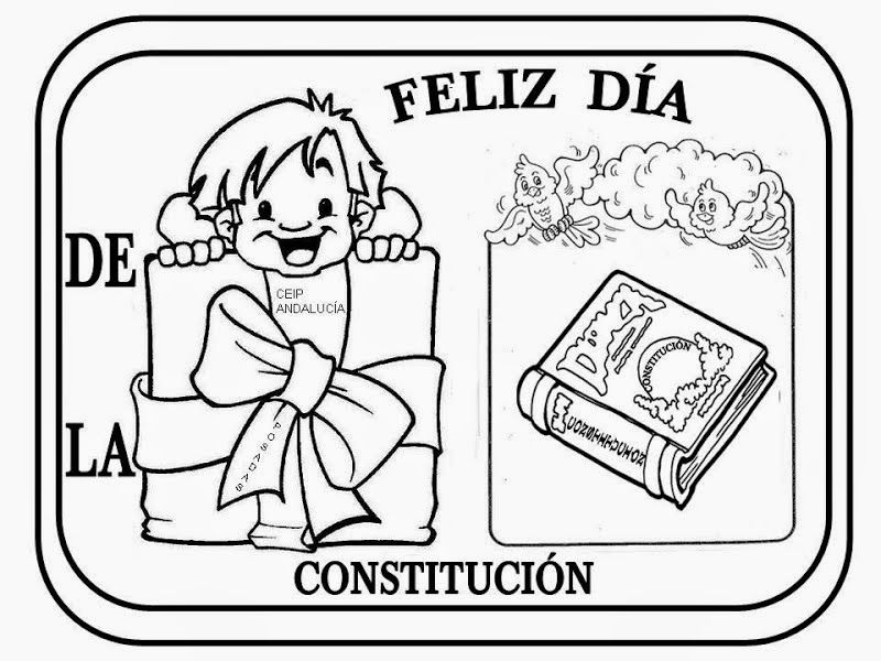 Maestra De Primaria La Constitucion Espanola Para Ninos Explicacion Bandera Escudo Ju Dia De La Constitucion Constitucion Para Ninos Constitucion Nacional