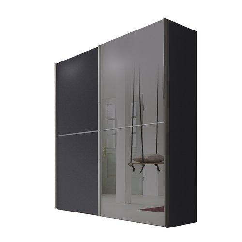 Ebern Designs Bentz 2 Door Sliding Wardrobe Sliding Wardrobe 3 Door Sliding Wardrobe Hanging Rail