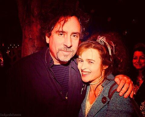 Helena Bonham Carter and Tim Burton! :D aww I love this picture :) <3