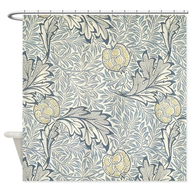 William Morris Apple Shower Curtain By Fineartdesigns Cafepress