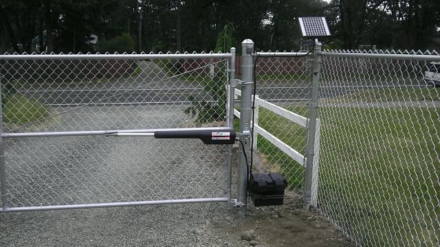 chain link fence double gate. Chainlink Fencing, Black Vinyl Chain Link Fence Double Gate