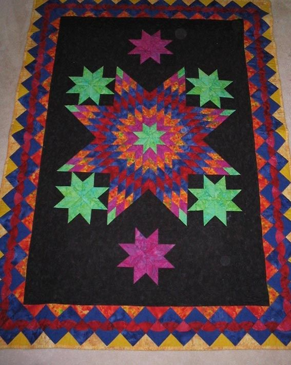 Lone Star Quilt Quilts Weve Made Pinterest Lone Star Quilt