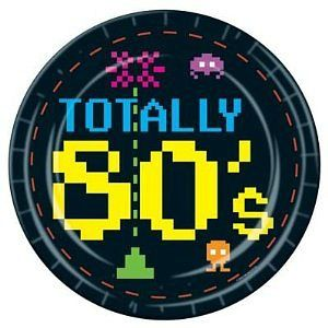 80s themed party plates  sc 1 st  Pinterest & 80s themed party plates | My 80s theme party | Pinterest | Themed ...