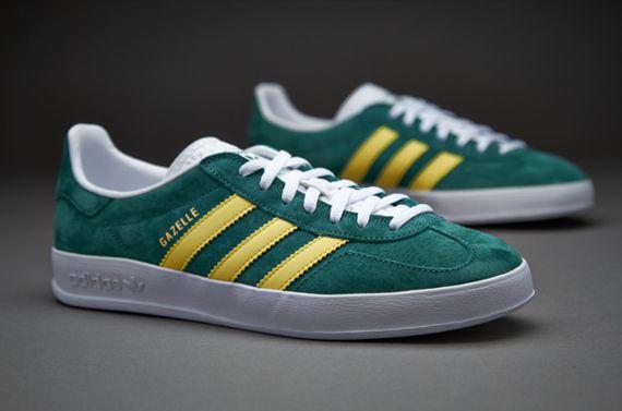Sepatu Sneakers Adidas Originals Gazelle Indoor Sub Green Lemon