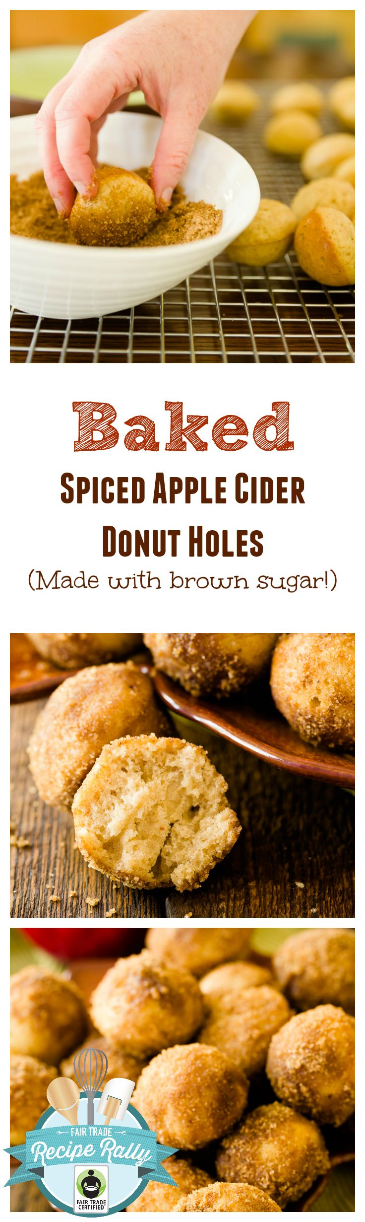 Apple Cider Donuts - Baked Donut Recipe with Step-by-Step Instructions