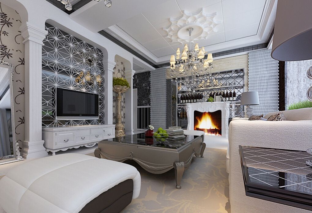 2 interior european modern homes have antic chandeliers on modern living room inspiration id=98892