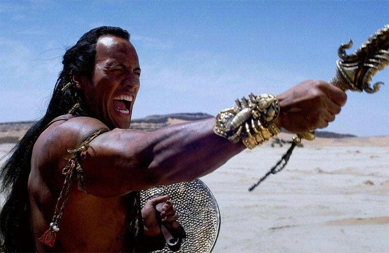 Scorpion King!