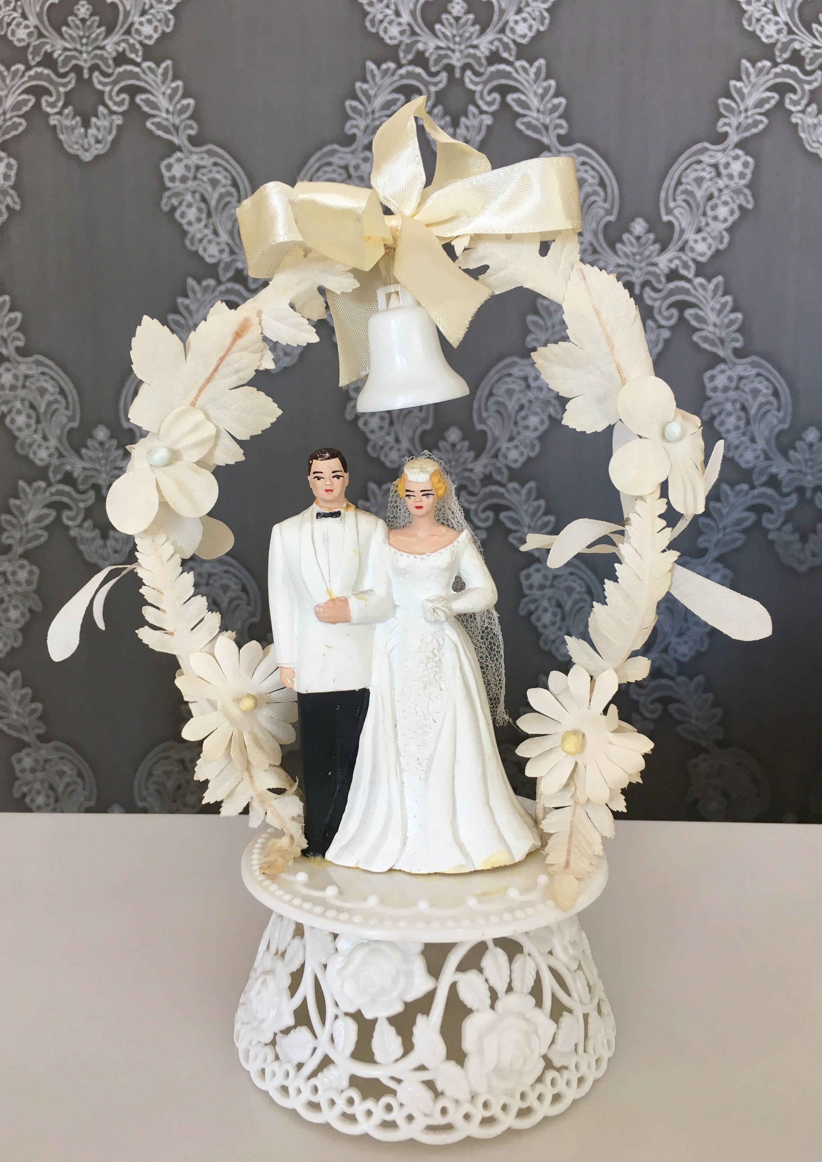 Pin By Bambole Da Collezione On Wedding Cake Topper Vintage Cake Toppers Wedding Cake Toppers Wedding Topper