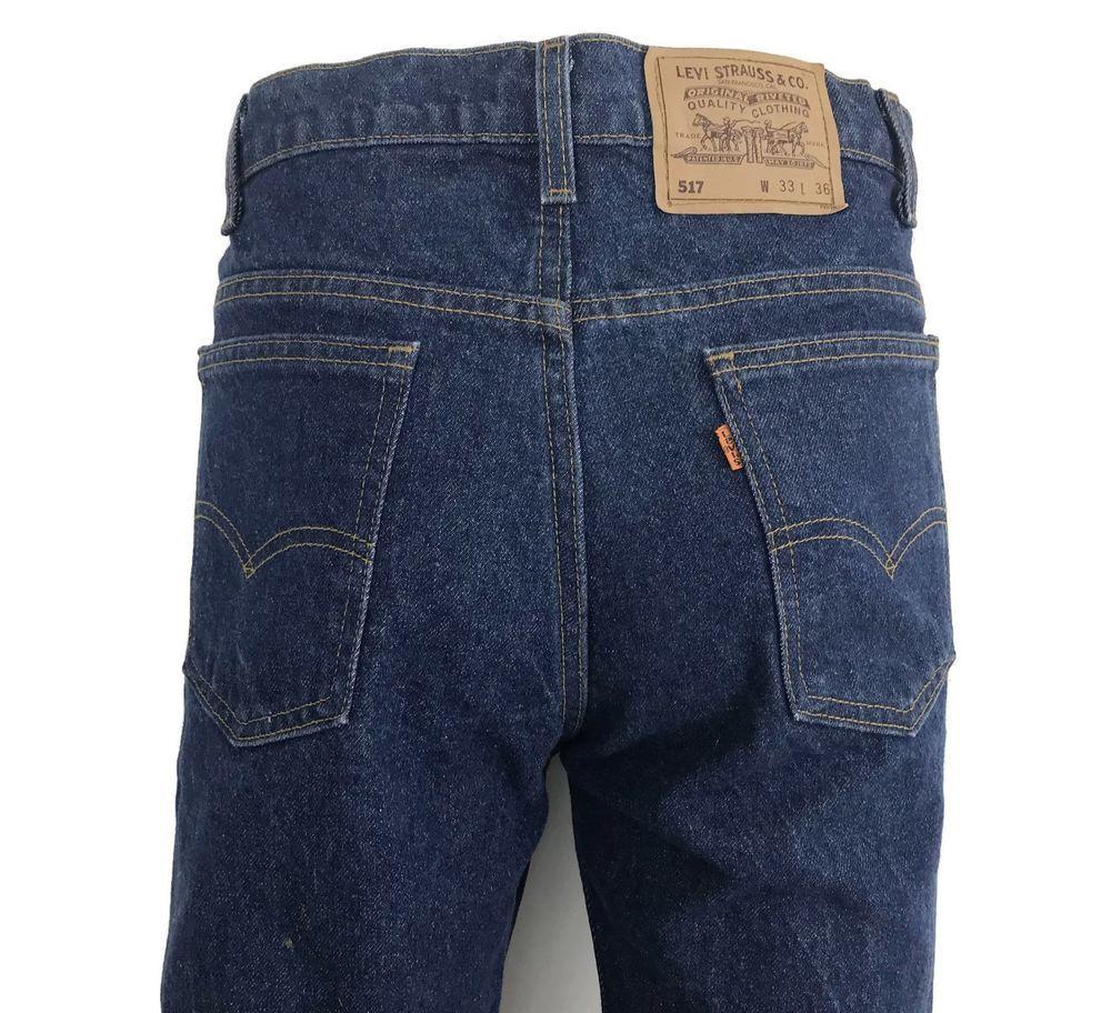 896229c5265 Vintage Levi's Men's Orange Tab Denim Jeans 100% Cotton Made In USA Size 33  x 37 #Levis #ClassicStraightLeg