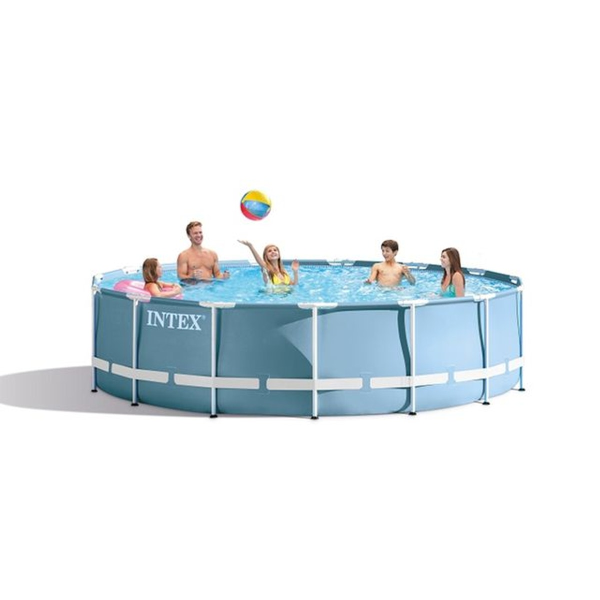Piscine Tubulaire Ronde Prism Frame 4 57 X 0 84 M Taille
