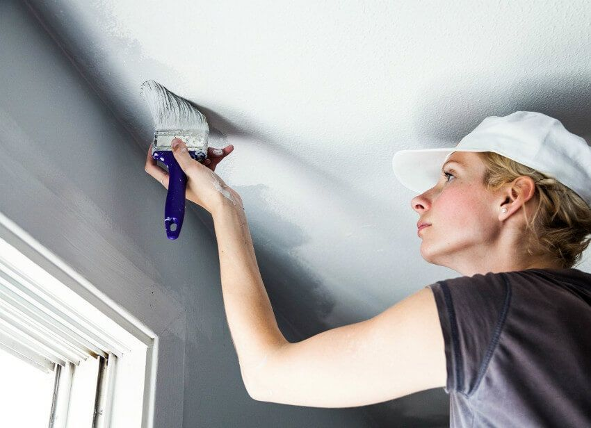 7 Painting Mistakes and How to Fix Them Popcorn ceiling