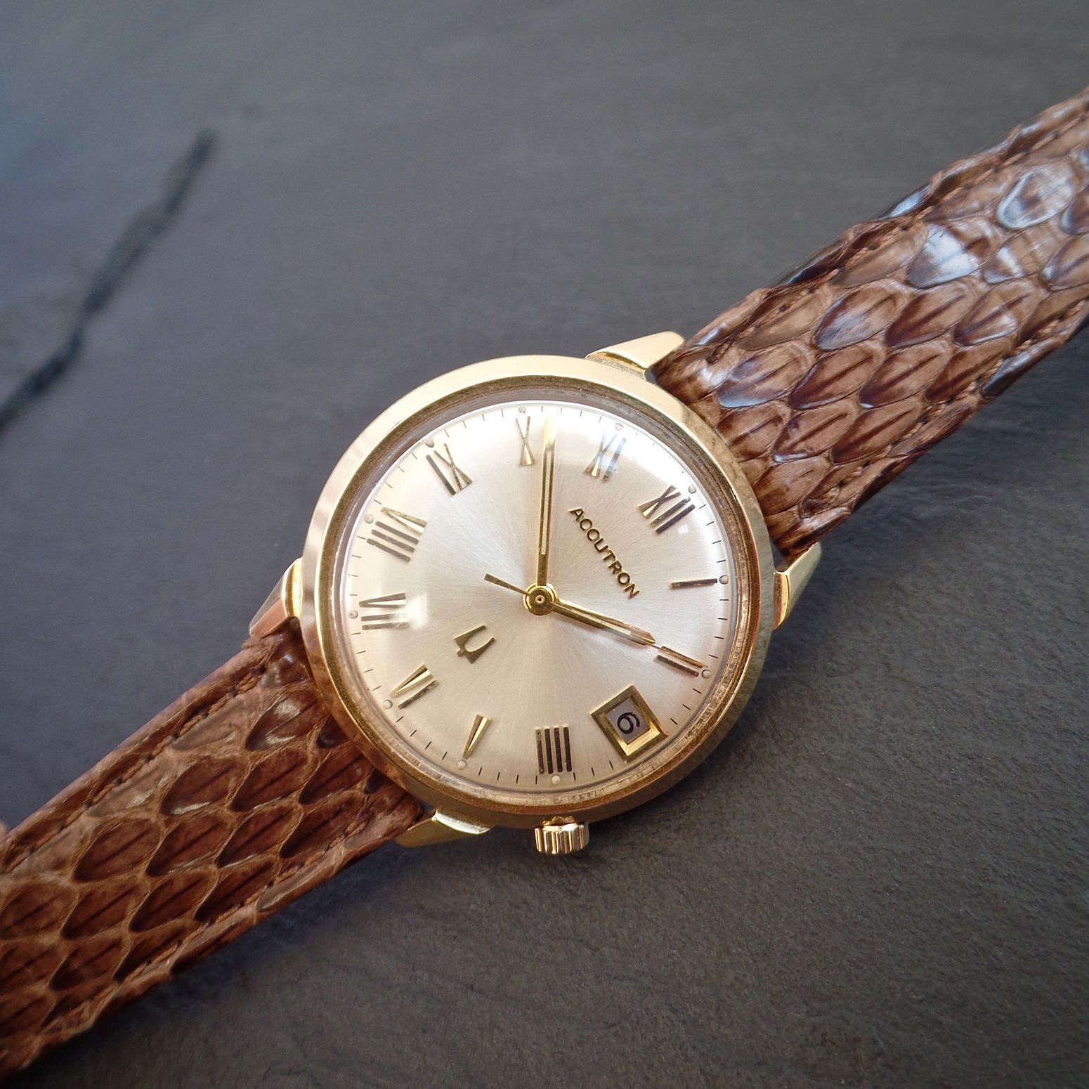 Bulova watch accutron vintage