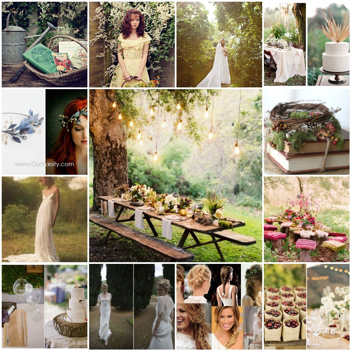 Secret Garden Theme Wedding Inspiration