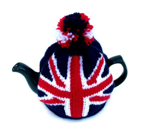 Really proud to be british tea cozy made by Madmumknits