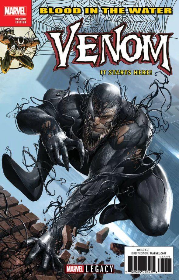 The Venom Site: venom legacy variant cover | Venom | Pinterest ...