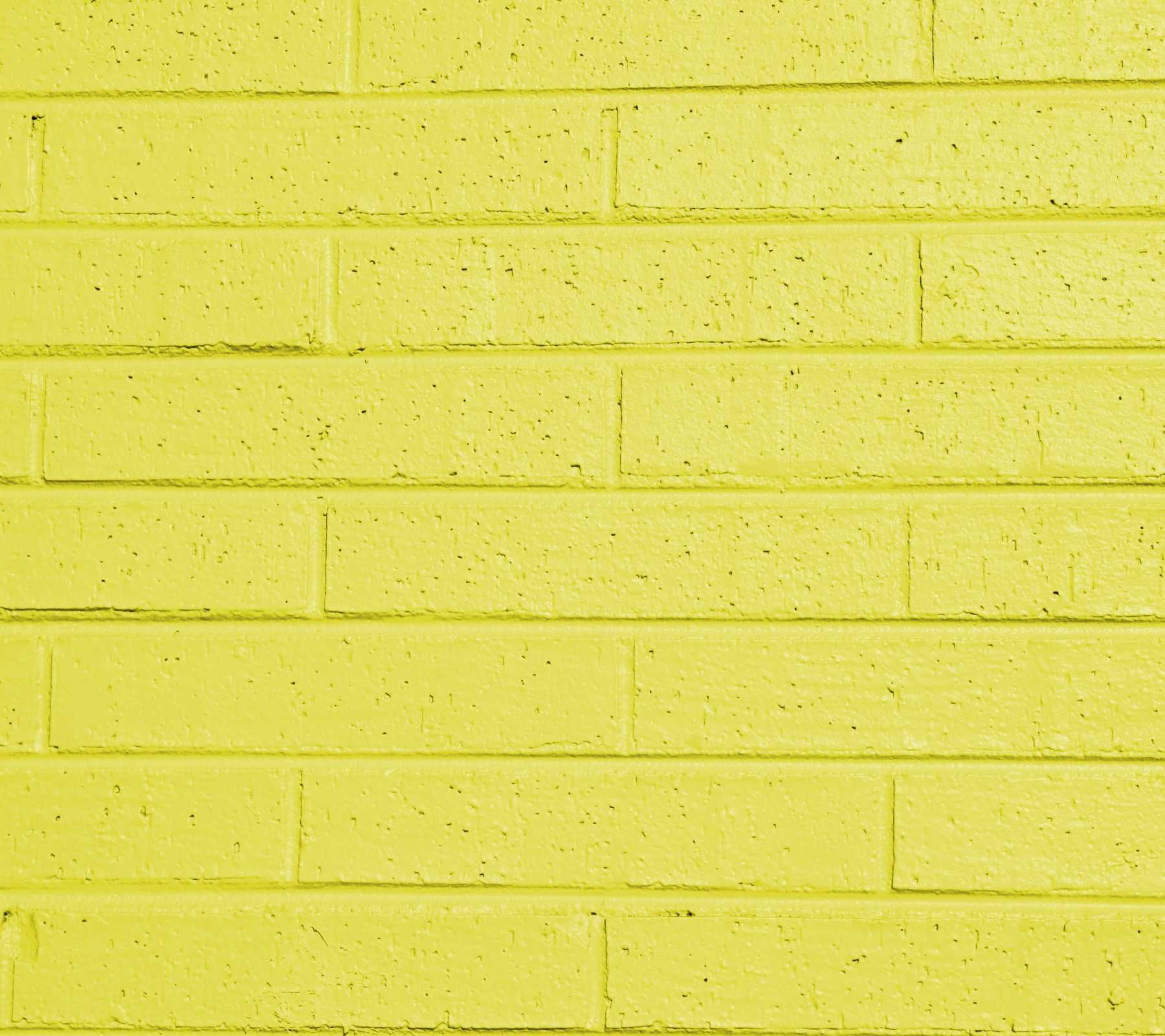 yellow_painted_brick_wall | Yellow | Pinterest | Painted brick walls