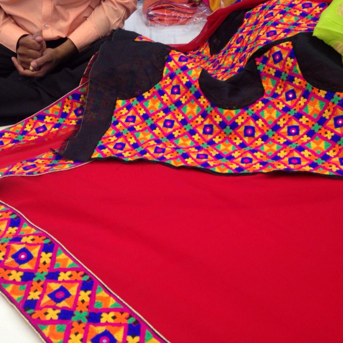 Sindh or kutch work saree blouse designs pinterest