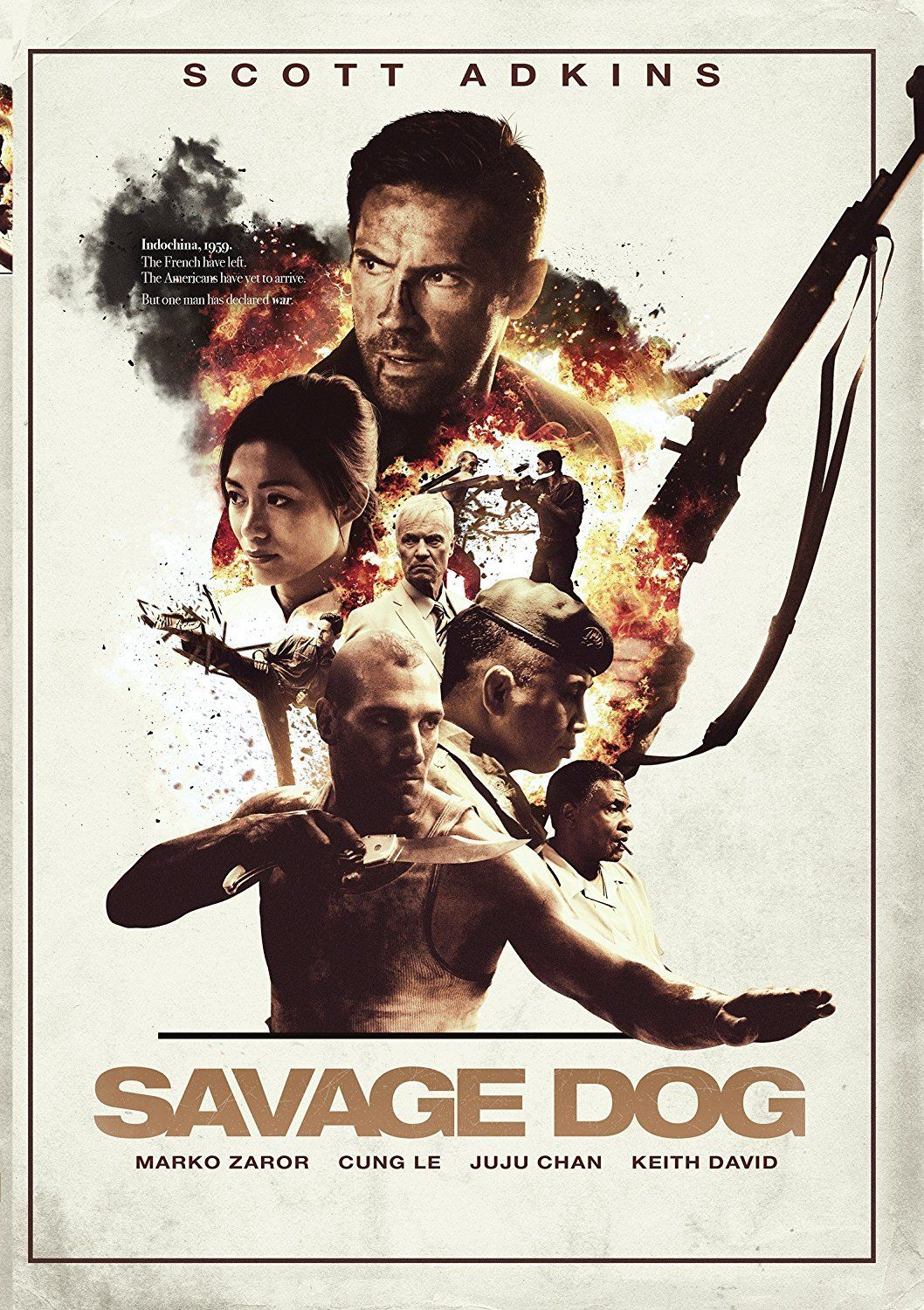 Savage Dog 2017 Dvd English Subtitled Us Version Com