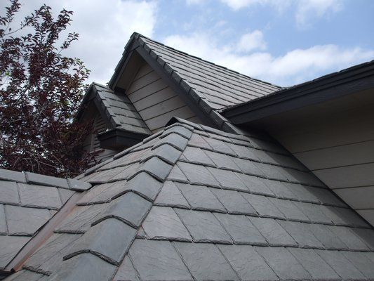 Davinci Bellaforte Google Search Synthetic Slate Roofing Roofing Slate Roof