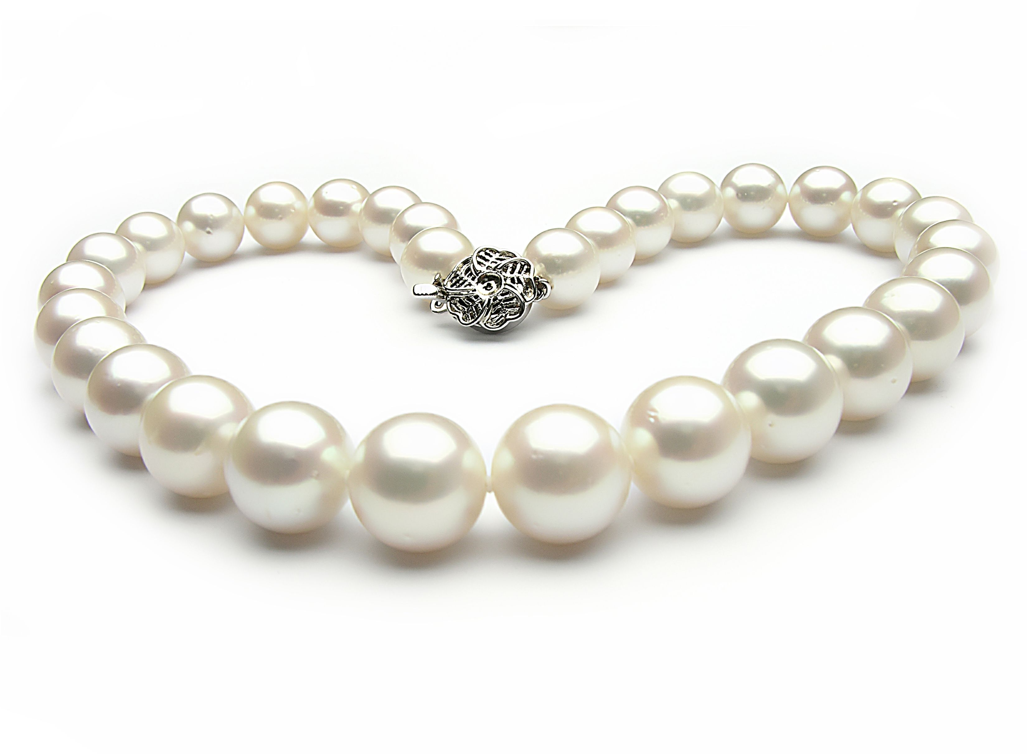Pearl Jewelry South Sea Pearl Necklace 13 15mm Aa