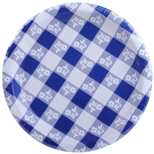 Wholesale Blue Gingham Paper Plate for local national and international discount convenience dollar grocery retailers and distributors.  sc 1 st  Pinterest & Wholesale Blue Gingham Paper Plate 7\