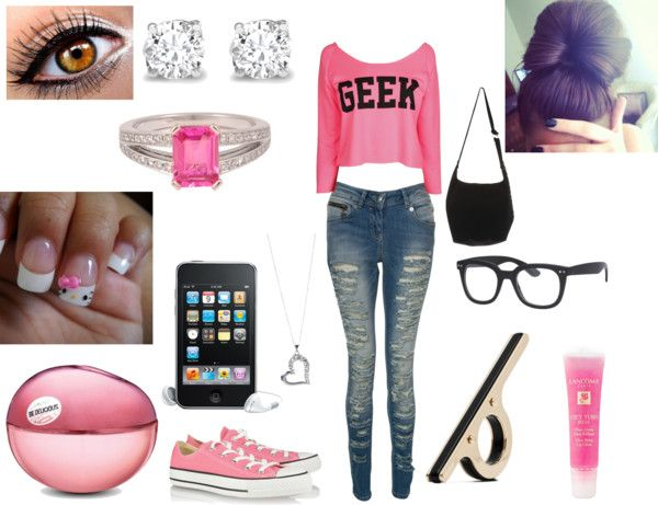 """""""~Geek~"""" by charlipooh ❤ liked on Polyvore"""