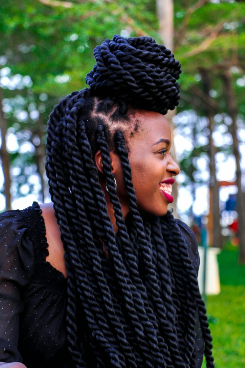 Protective Styles Brazilian Wool African hairstyles