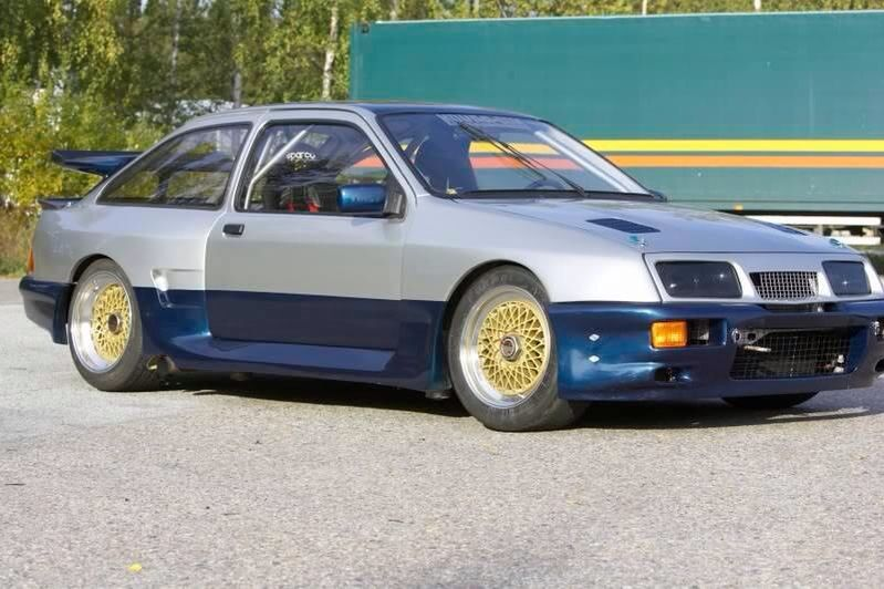 Thunder Saloon Ford Sierra Ford Gt Sport Cars