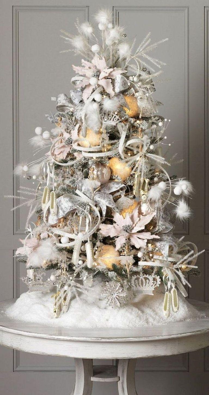 40 Elegant Christmas Tree Decorations Ideas 38 Elegant Christmas Trees Silver Christmas Tree Decorations Elegant Christmas Tree Decorations