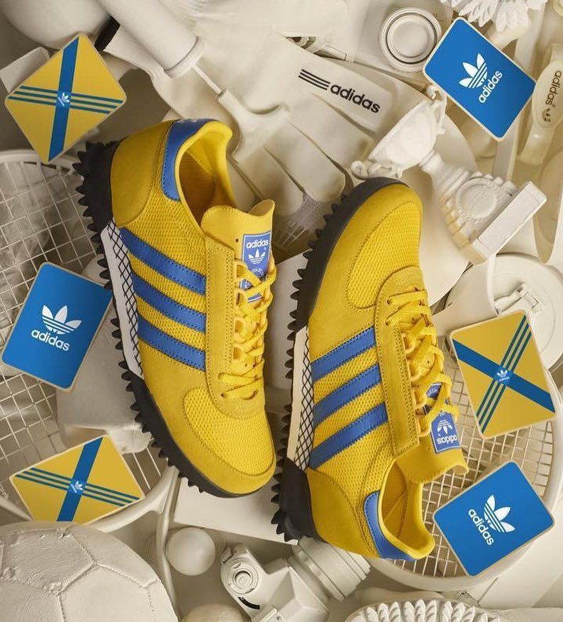pastel arco patinar  Size? X adidas Originals Marathon TR | Sneakers men fashion, Trendy  sneakers, Sneakers