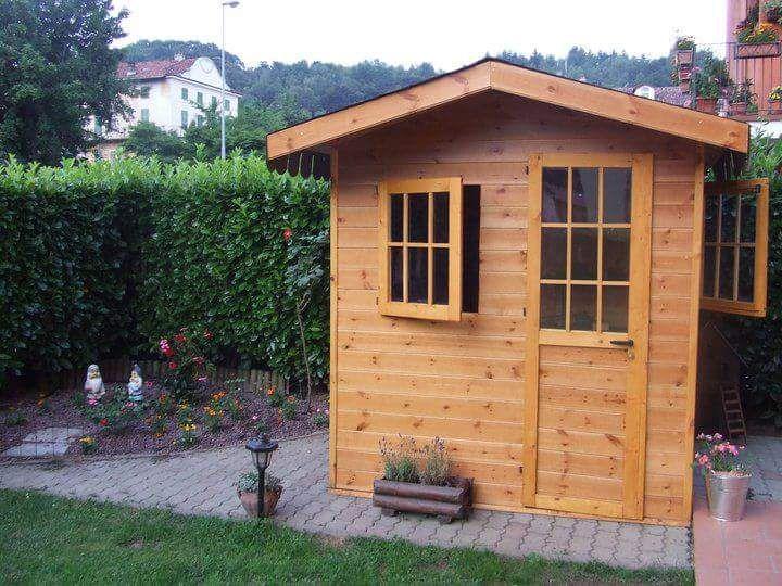 Come Costruire Una Casetta In Legno Fai Da Te Giardino Porta