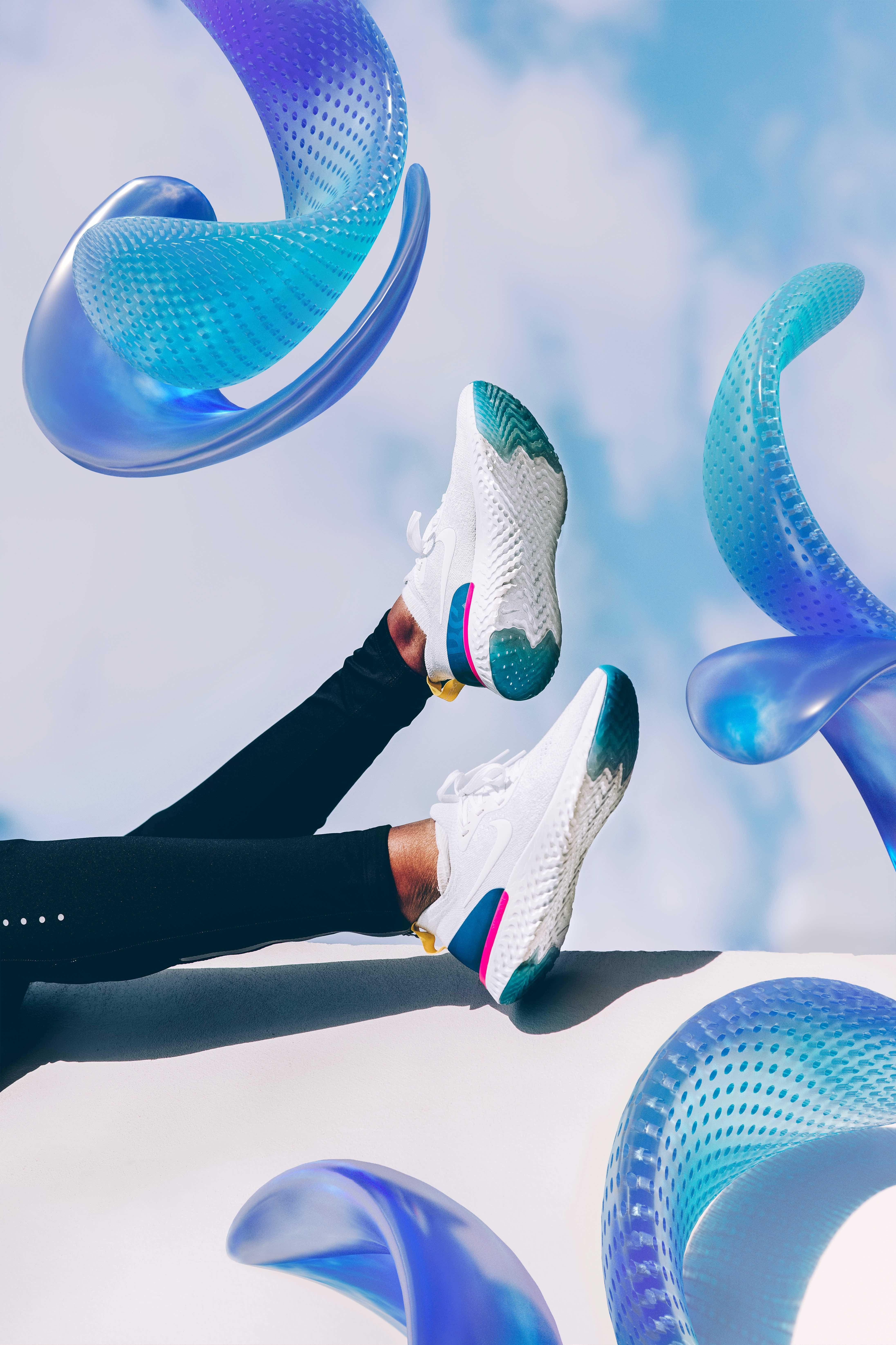 31ba0cf6c2ee Amazing Mixed Art for the Nike Epic React - Fubiz Media