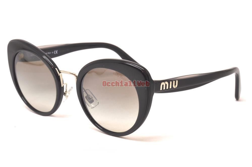b17ee29c1805 eBay  Sponsored Miu Miu SMU 06T Col.16E-5O0 Cal.53 New SUNGLASSES ...