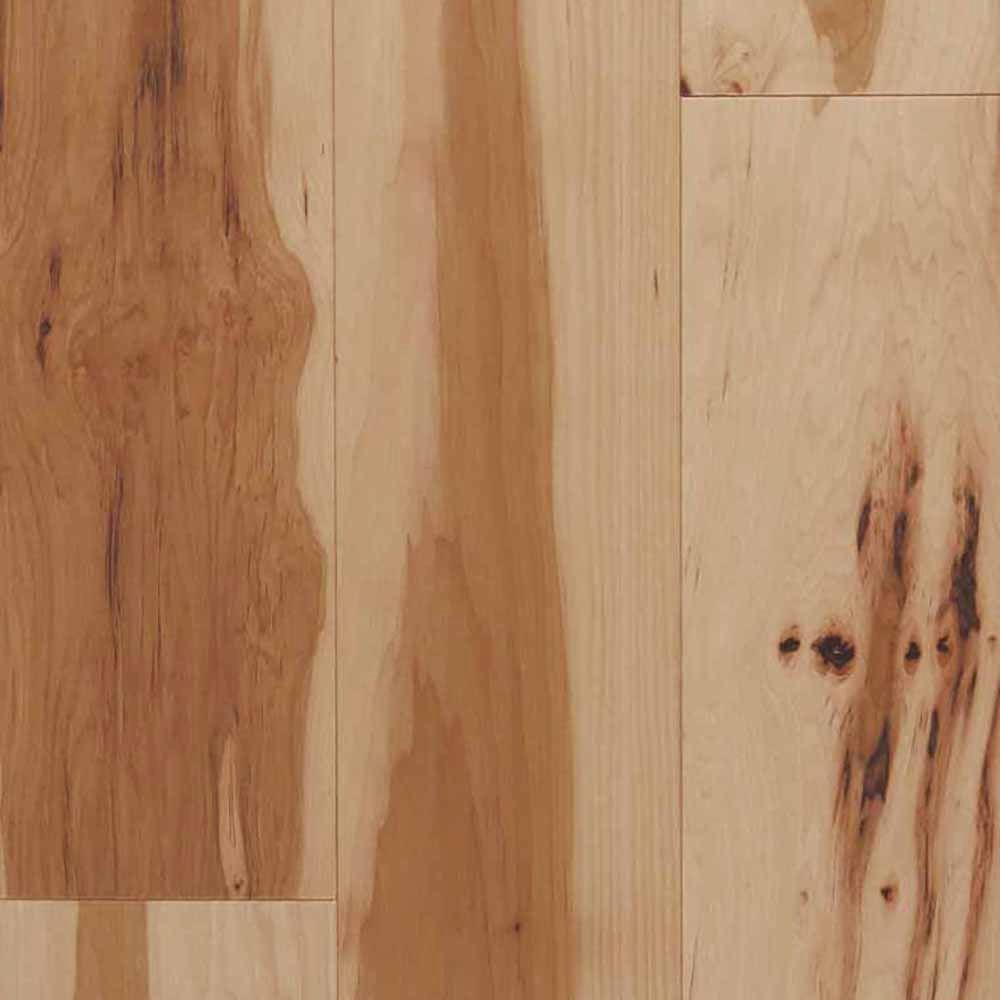 Blue Ridge Hardwood Flooring Hickory Natural 3 4 In Thick X 2 1 4 In Wide X Random Length Solid Hardwood Flooring 24 Sq Ft Case 20558 The Home Depot Hickory Hardwood Floors Hardwood Floors Solid Hardwood Floors