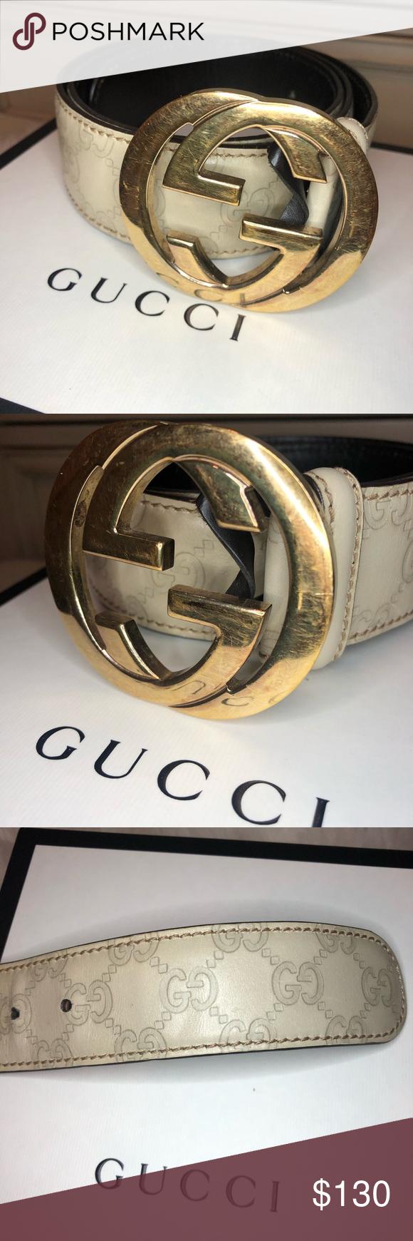Ivory Gucci Belt Gucci Belt Gucci Belt