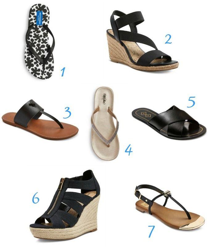 5458ab97b Our favorite women s sandals + flip-flops on sale at Target  sponsor