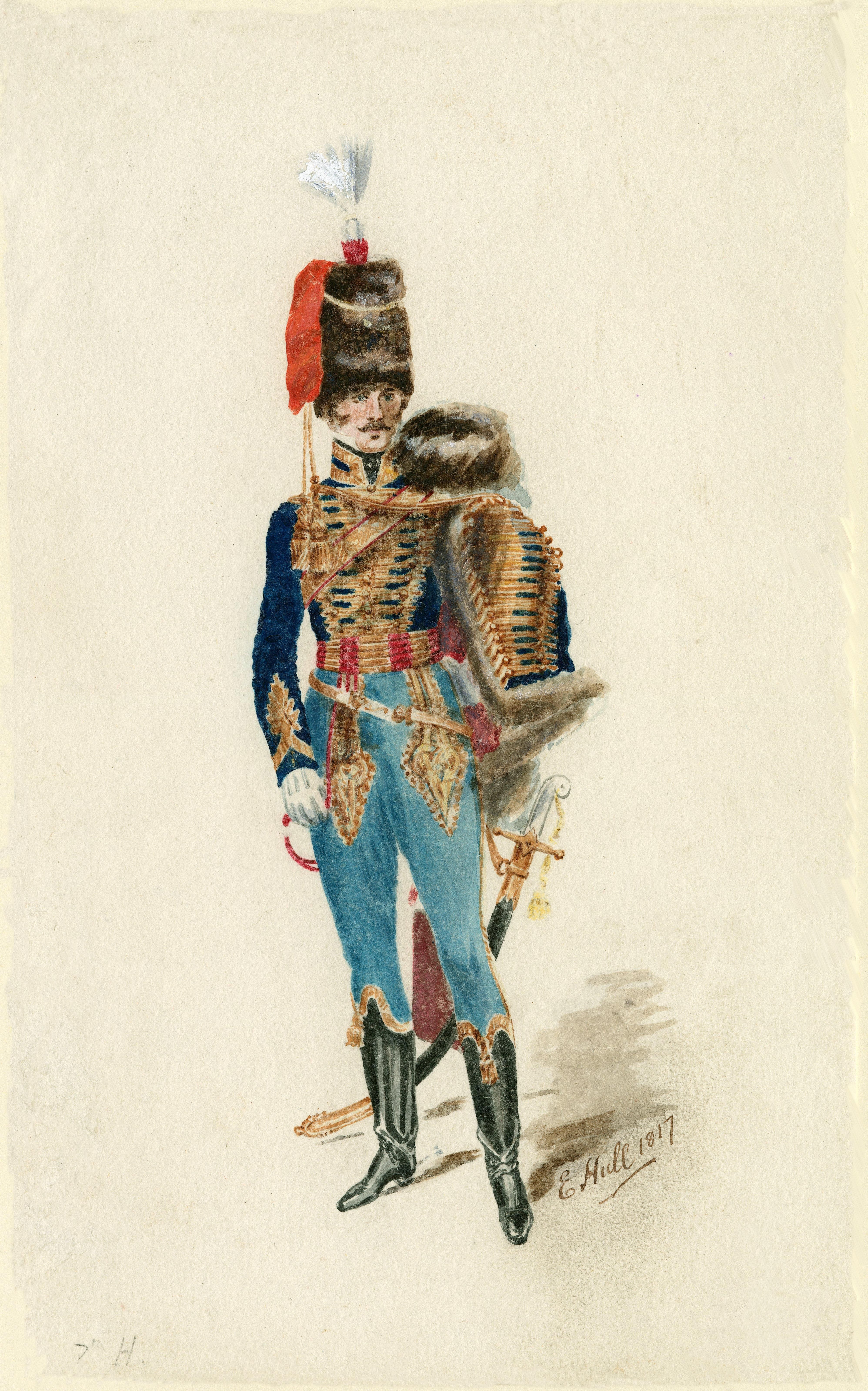 7th Queen's Own Hussars 1817