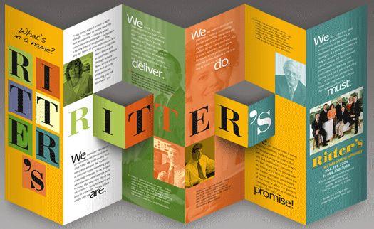 Creative Brochure Designs Brochures Pinterest Brochure Design