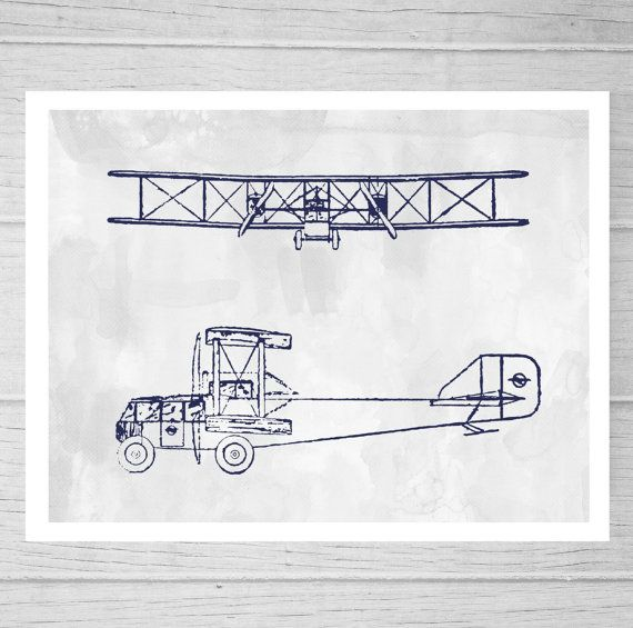 Aviation bi plane blueprint wall art airplane print no 1b on etsy aviation bi plane blueprint wall art airplane print no 1b on etsy malvernweather Gallery